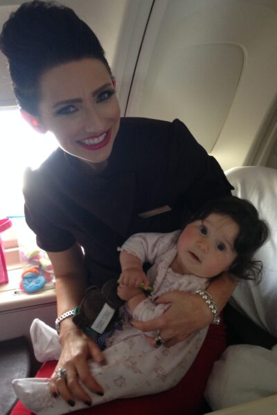 Travelling and Flying on your own Internationally with a baby