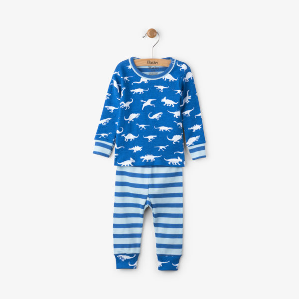 Dinosaur Organic Cotton Baby Pajama Set by Hatley