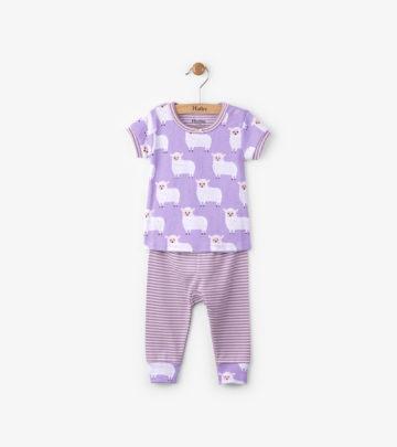Short Sleeve Organic Cotton Baby Pajama by Hatley