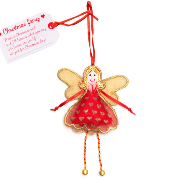 Christmas Fairy Tree Ornament.