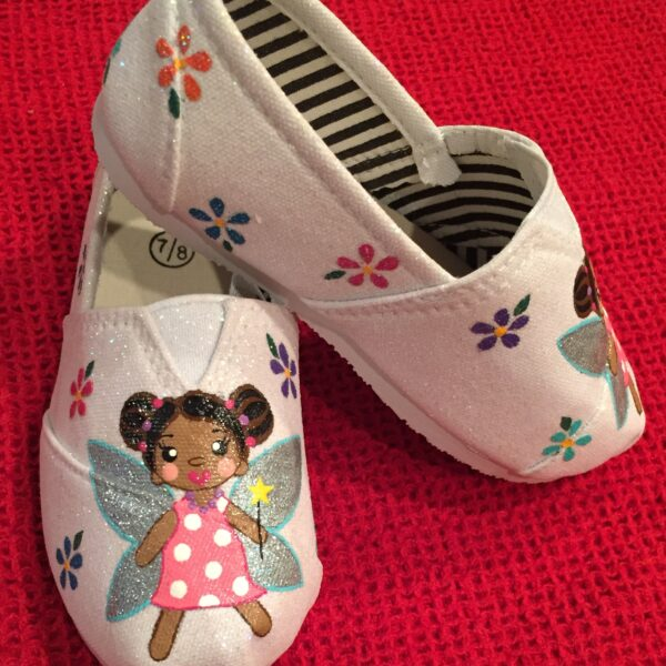 Hand Painted Fairy Kids Shoes Luna