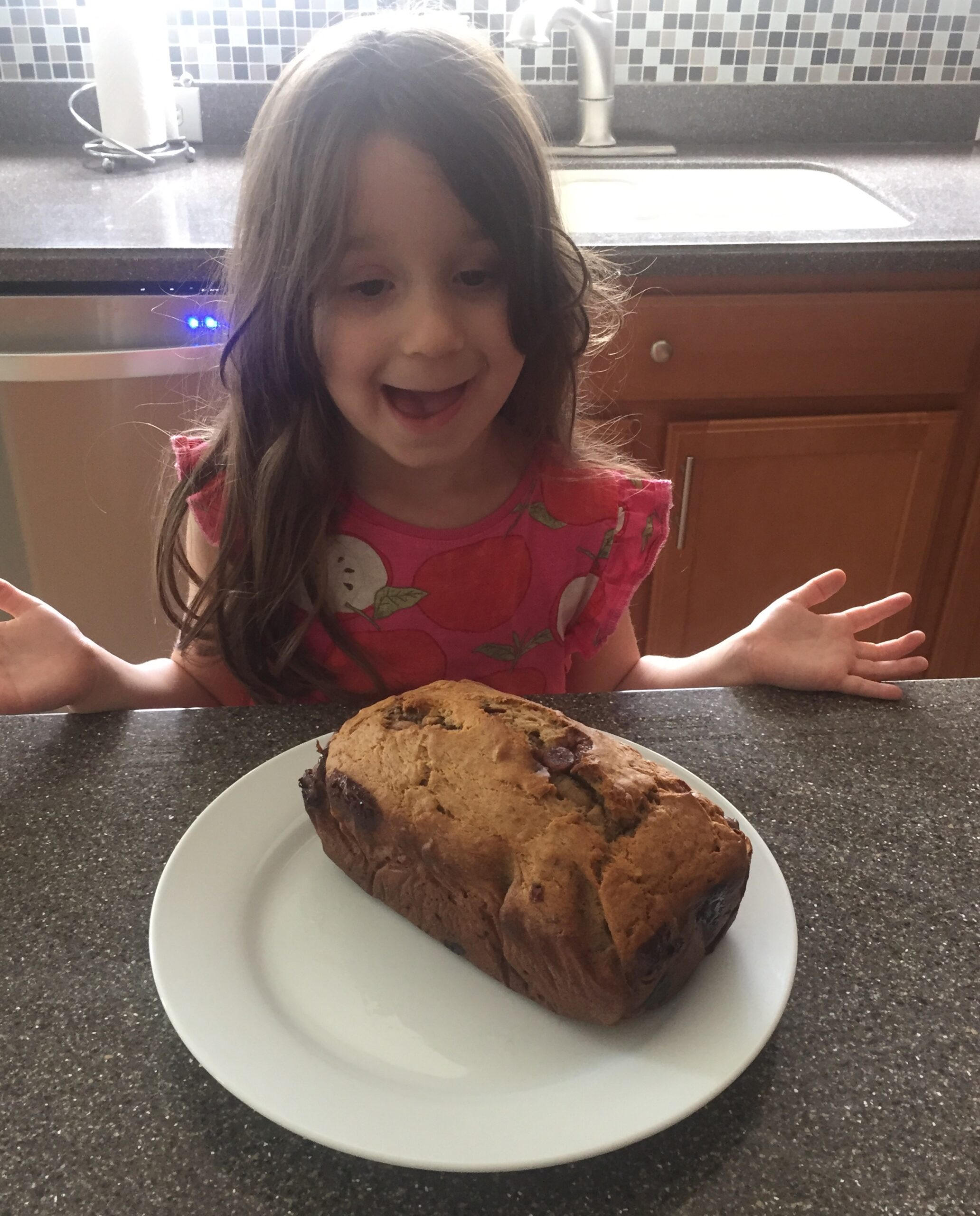 Baking With Kids Banana Bread recipe