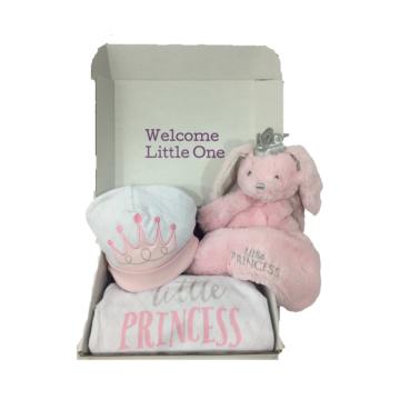 princess newborn gift box